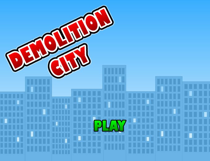 click to play demolition city 1